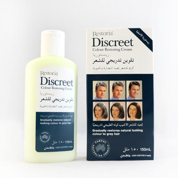 کرم رفع سفیدی مو دیسکریت DISCREET 150ML