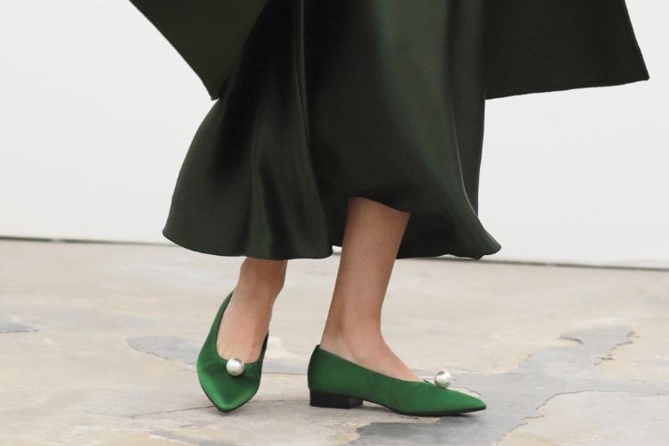 راهنمای خرید کفش تخت بدون پاشنه برای مراسم و جشنها